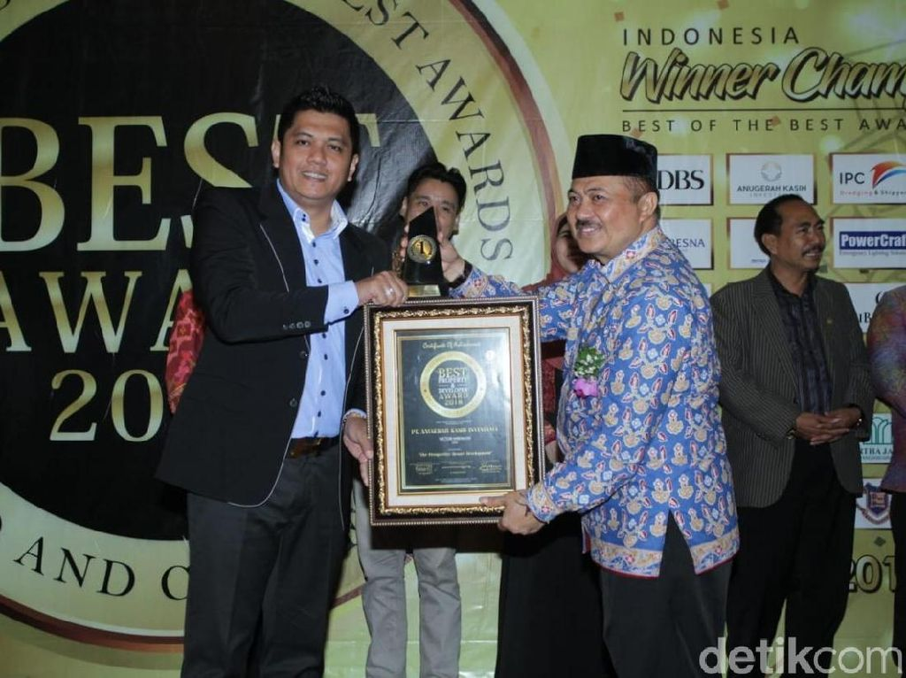 Penghargaan Best Property Award 2018