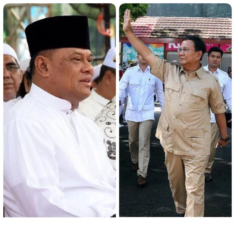 Gerindra Minta Gatot Nyapres di 2024, Prabowo Takut Tersaingi?