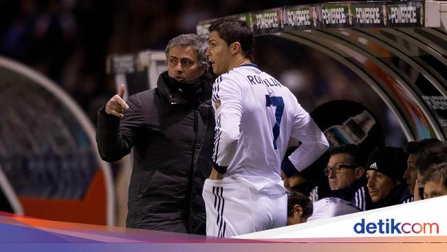 Cerita Mourinho dan Ronaldo Hampir Berkelahi di Re