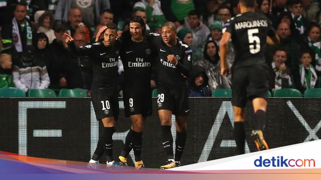 Canda Tuchel: Mbappe, Neymar, Cavani Terlalu Lama di Piala Dunia