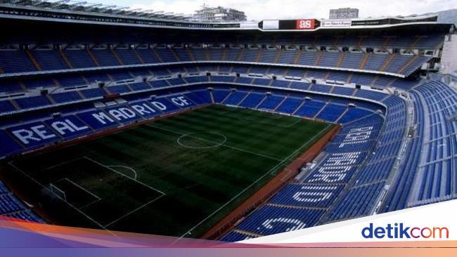 Stadion Real Madrid Jadi Markas 'Alat Perang' Melawan Corona