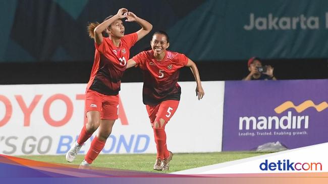 Hasil Asian Games 2018: Timnas Sepakbola Putri Indonesia Pesta Gol