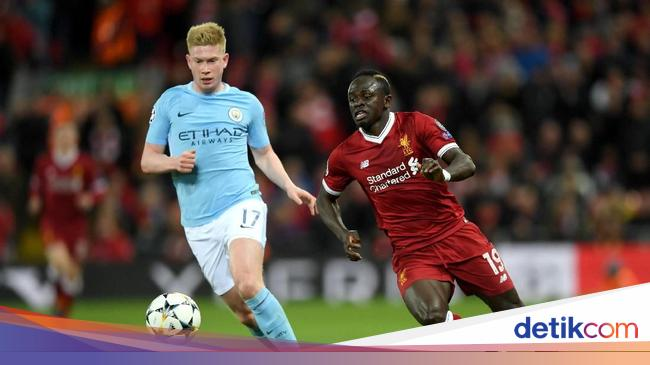 Data dan Fakta Liverpool Vs Man City 4