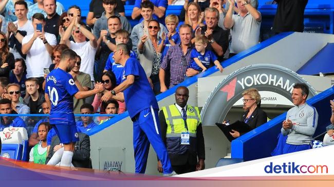 Tentang Hazard dan Prioritas Sarri Jelang Liverpool vs Chelsea