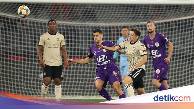 Hasil MU Vs Perth Glory: Setan Merah Menang 2-0