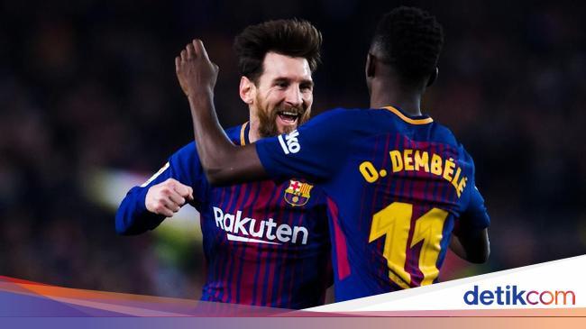 Waspadalah Inter, Messi dan Dembele Masuk Skuat Barcelona - detikSport