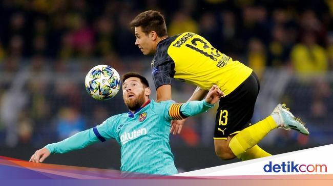 Messi Tanpa Persiapan di Laga Dortmund Vs Barcelona - detikSport