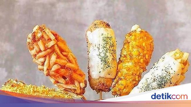 Di Sini Bisa Ngemil Corn Dog Jajanan Korea Hits Yang Bikin Kenyang