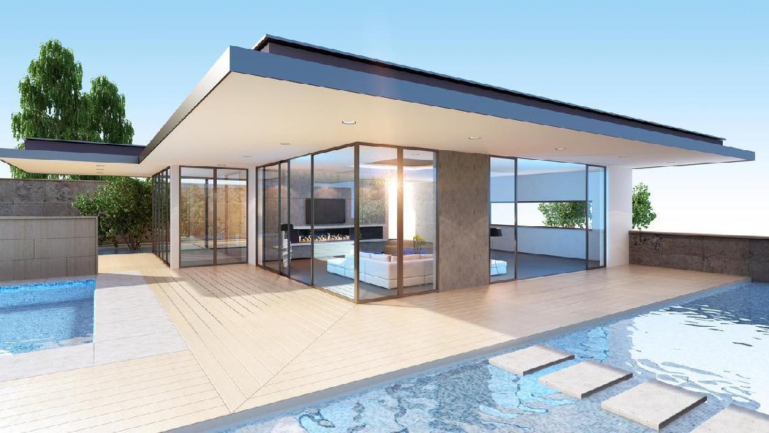 Inspirasi Rumah Minimalis Desain Kaca, Memberi Kesan Mewah Dan Luas