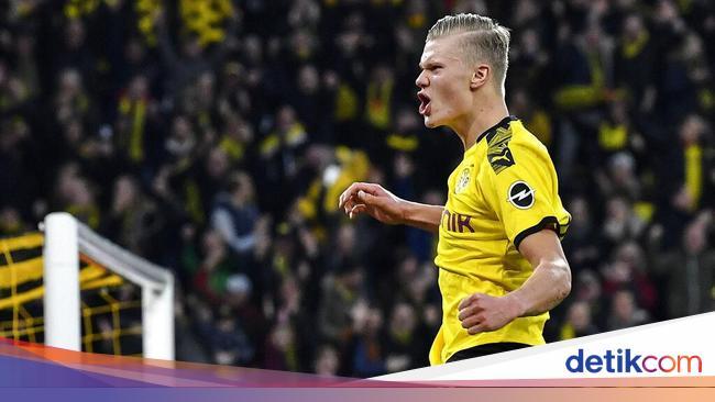 Yellow Wall Signal Iduna Park Bikin Haaland Mantap Pilih Dortmund