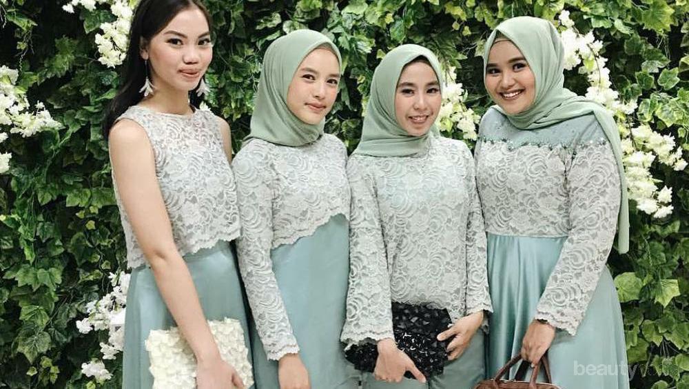 Deretan Model Dress Brokat Ini Lagi Hits Banget Di Kalangan Hijabers