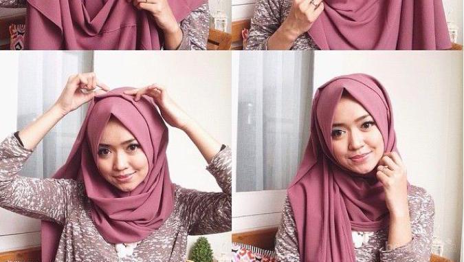 Enggak Biasa Ini 4 Tutorial Hijab Pasmina Simple Dan Elegan Untuk Wisuda