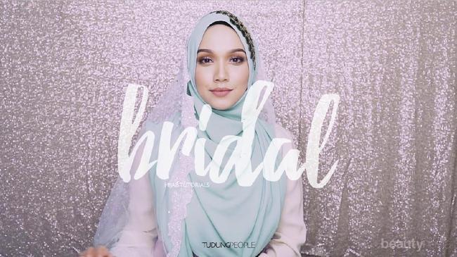 Ingin Tampil Dengan Hijab Syar I Kekinian Untuk Pernikahan Tutorial Ini Bisa Kamu Coba Sendiri