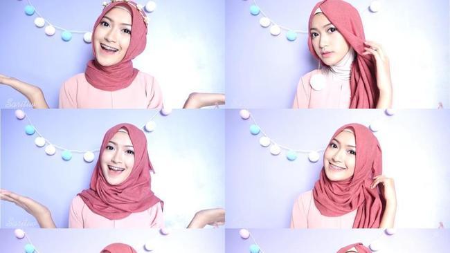 Cobain Yuk Tutorial 7 Hijab Look Dengan 1 Hijab Berikut Ini Simpel Dan Praktis Banget