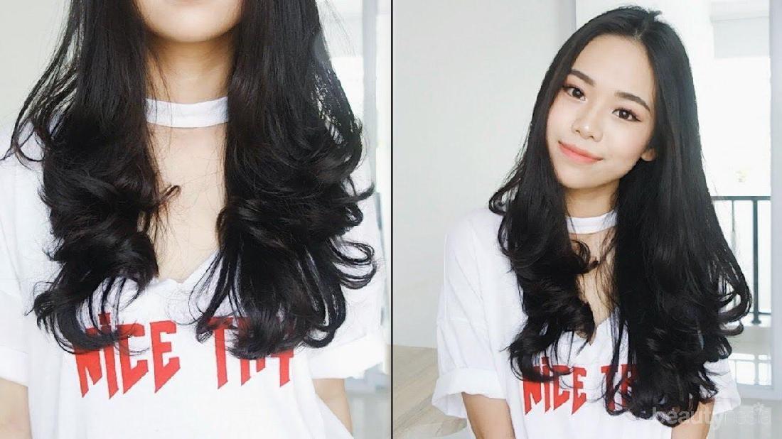 Bikin Rambut Curly Dengan Catokan Begini Lho Cara Mudahnya