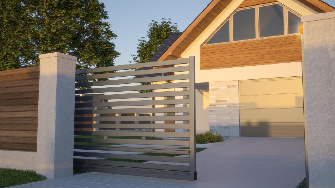 5 Inspirasi Pagar Berkonsep Elegan Untuk Lengkapi Rumah Minimalis Modern