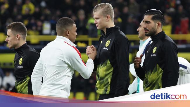 Mbappe Vs Haaland Bakal Seperti Messi Vs Ronaldo? Ini Kata Zidane