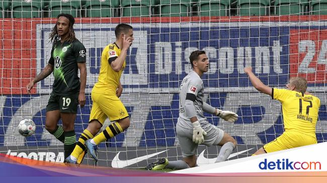 Wolfsburg Vs Dortmund: Die Borussen Menang Meyakinkan 2-0