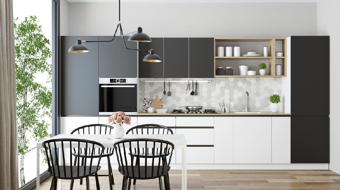 5 Perpaduan Warna Cat Dapur Rumah Minimalis Yang Mudah Ditiru