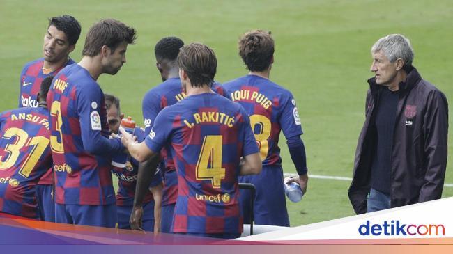 Barcelona Panas Terus! Kini Messi Cs Vs Staf Pelatih