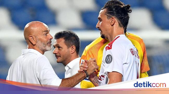 Zlatan Ibrahimovic Terus Bikin Pelatih Milan Terke