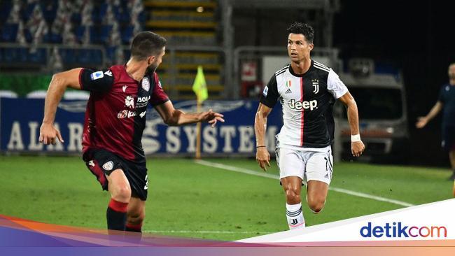 Cagliari Vs Juventus: Ronaldo Tak Dirotasi karena Alasan Ini