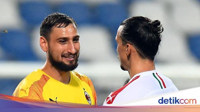 Milan Mau Perpanjang Kontrak Ibrahimovic dan Donnarumma