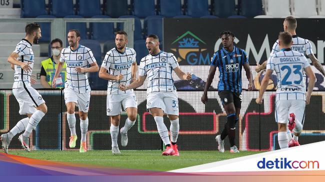 Atalanta Vs Inter: Nerazzurri Bungkam La Dea 2-0