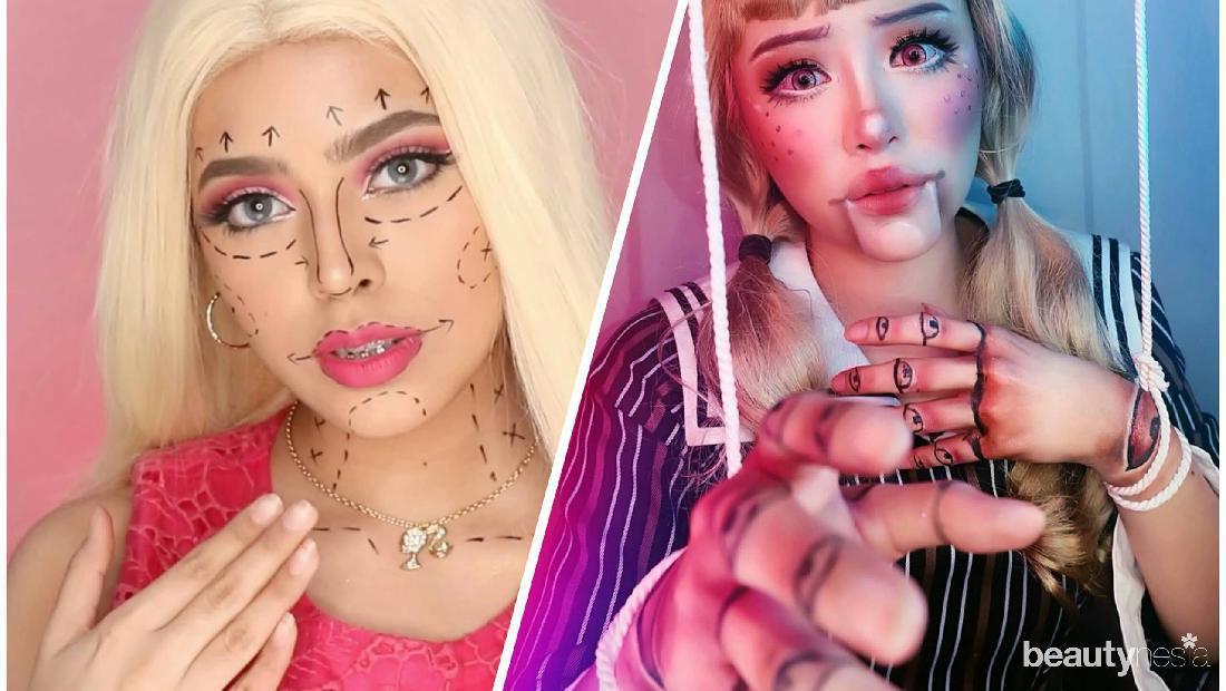 Pesan Mendalam Di Balik Barbie Doll Makeup Challenge Yang Viral