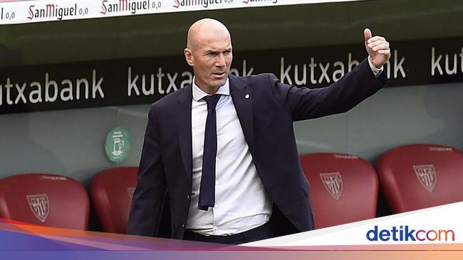 Top! Zidane Jadi Pelatih Terbaik Dunia, Ungguli Kl