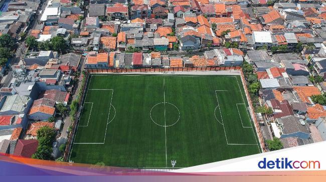 Lapangan Sepakbola Dan Ukurannya Sesuai Standar Nasional