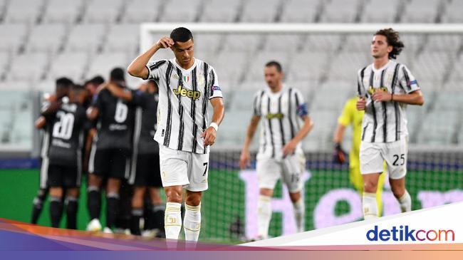 Babak I: Juventus Vs Lyon Imbang 1-1