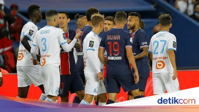 PSG Vs Marseille: Lima Kartu Merah Warnai Kekalahan Les Parisiens