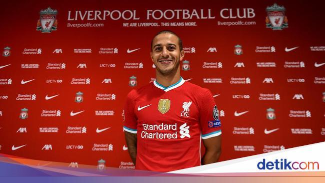 Thiago Resmi Gabung ke Liverpool, Klopp: Mantap Be