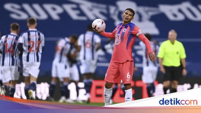 Debut Thiago Silva di Liga Inggris: Jadi Kapten da