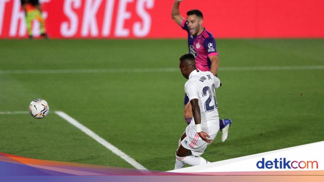 Madrid Vs Valladolid: Vinicius Menangkan Los Blanc