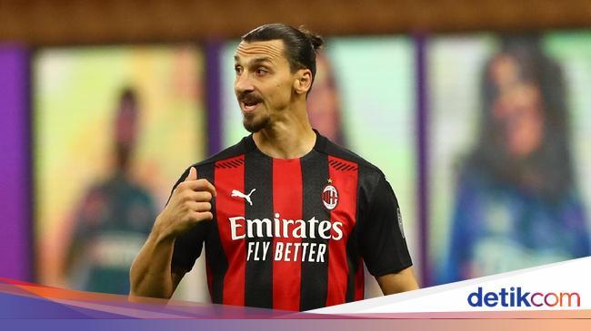 Milan Vs Roma: Rekor Bagus Ibrahimovic Lawan Giall