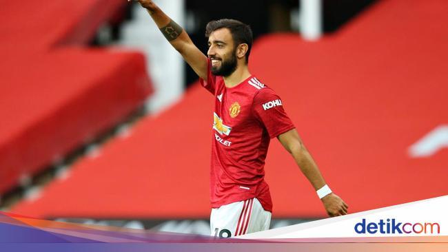 PSG Vs MU: Bruno Fernandes Akan Jadi Kapten Setan