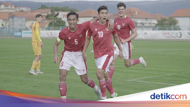 Timnas Indonesia U-19 Vs Hajduk Split: Garuda Muda