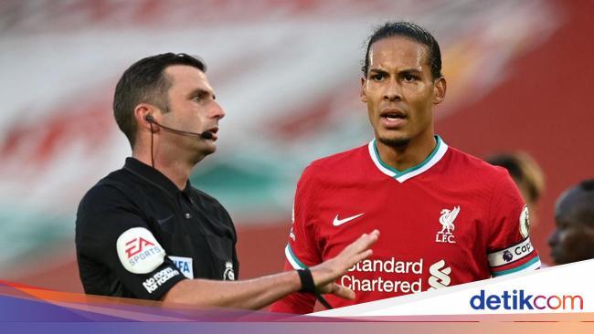 Van Dijk Dicoret dari Tim Liverpool di Liga Inggri