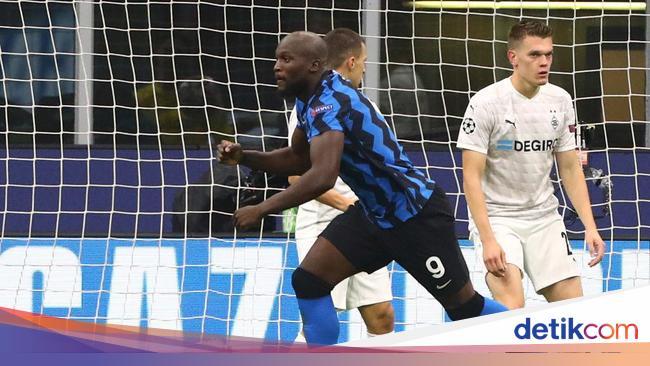 Inter Vs Gladbach: Gol Lukaku Selamatkan Nerazzurr