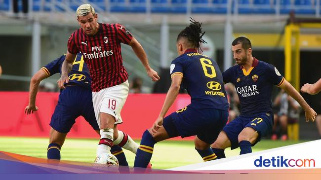 9 Data-Fakta Milan Vs Roma