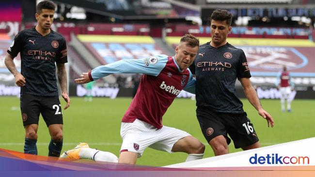 Man City Vs West Ham: Duel 2 Tim Paling Tangguh di