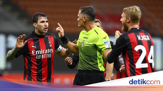 Wasit Milan Vs Roma Disorot, Fonseca dan Pioli Eng