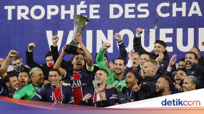 PSG Juara Piala Super Prancis 2020