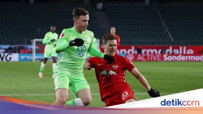 Liga Jerman: Wolfsburg vs RB Leipzig Berakhir Imbang 2-2