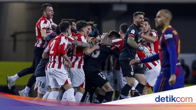 Athletic Bilbao Juara Piala Super Spanyol