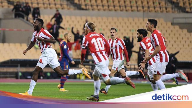 Barcelona Vs Athletic Bilbao: Los Leones Juara Piala Super ...