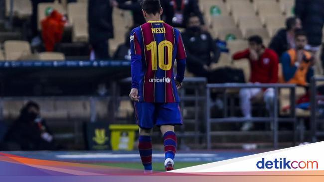 Barcelona Vs Bilbao: Momen Messi 'Banting' Lawan Berujung ...