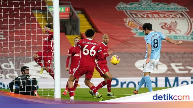 Liverpool Vs Man City: The Citizens Habisi Si Merah 4-1
